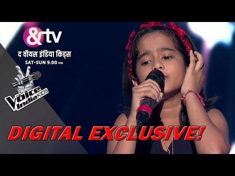 Krishnakshree Das Performs On Aao Huzoor Tumko |Sneak Peek | The Voice India Kids - Season 2