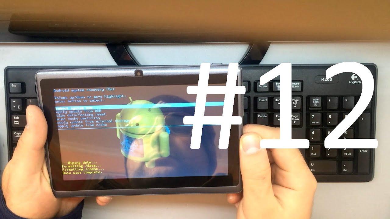 Как сделать сброс на планшете самсунг галакси нот 10.1