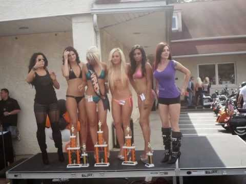 My Slideshow Ms.Valley Forge Harley Davidson open house bikini contest