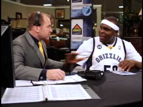 Zach Randolph Ashley's Furniture