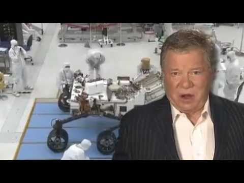 "William Shatner Hosts ""Grand Entrance"" - Curiosity's Landing on Mars 