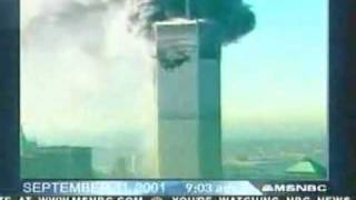 Live TV Footage Of 9/11 (Second Plane Hit, Collapse Of
