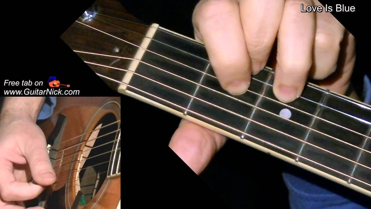 how to play love story acoustic guitar