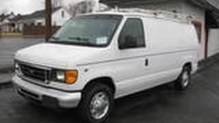 2005 Ford E150 Start Up, Engine, and In Depth Tour videos