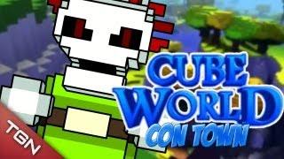 """CUBE WORLD - """"Vaya Par de Muertos"""" con Bers"""