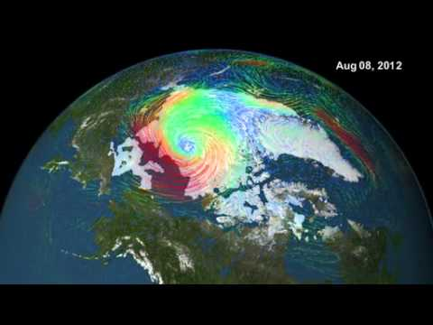 Disappearing Arctic Sea Ice - Melting Polar Ice Cap