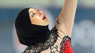"""""""Ice Princess in a Hijab"""" Has Her Eye on the Winter Olympics"""