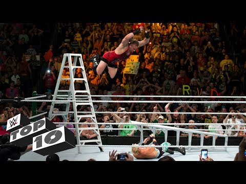 Money in the Bank ladder leaps: WWE Top 10