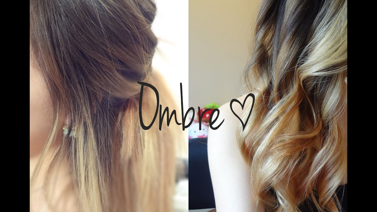 my hairstyle update 6 ombr   youtube