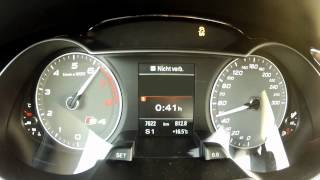 2012 Audi S4 333 PS 0-100 km/h & 0-160 km/h Acceleration videos