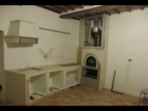 Cucina in muratura e finta muratura youtube - Cucina in finta muratura ...