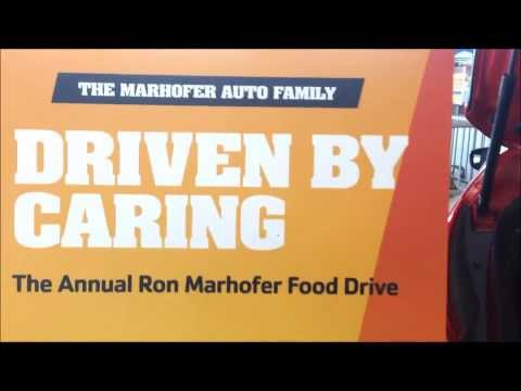Ron Marhofer Auto Family Food Drive - Driven By Caring