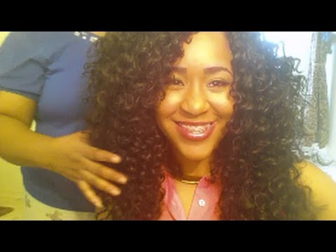 ... : LATCH HOOK/CROCHET HAIR TUTORIAL WITH FREETRESS GOGO CURL - YouTube
