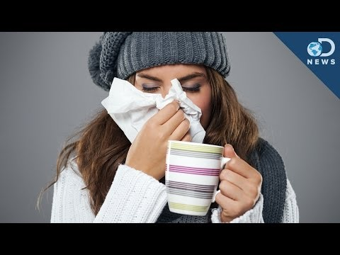 Why Winter is Cold and flu season ?