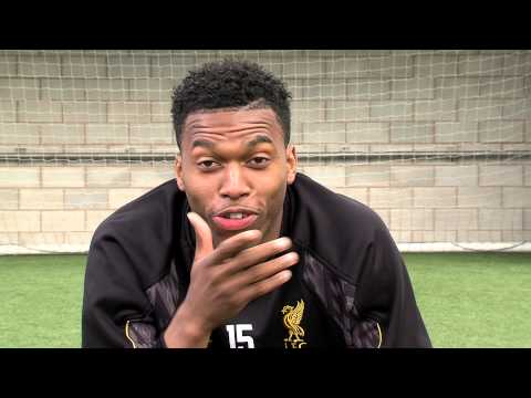 England World Cup striker Daniel Sturridge v kids from the Bronx