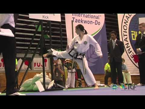 ITF Taekwon-Do Power Breaking