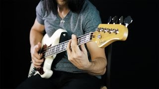 Extreme and Crazy Slap Bass Solo (The Bass Wizard)