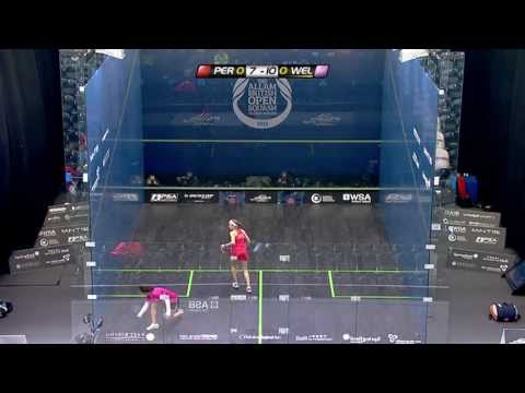 Squash : Allam British Open 2013 - Rd2 Roundup WSA part 2