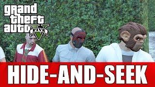 GTA 5 Online KILLER Hide-And-Seek! (Fun GTA 5 Custom Games)