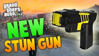 "GTA 5: NEW ""STUN GUN"" IN GTA ONLINE! NEW LEAKED INFO"