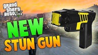 "GTA 5: NEW ""STUN GUN"" IN GTA ONLINE! NEW LEAKED INFO"