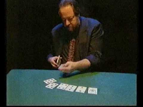 Ricky Jay - Amazing Card Trick/Manipulation