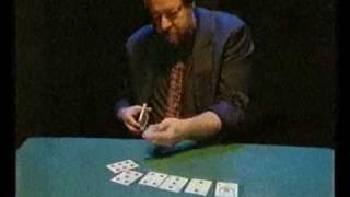 Um truque inexplicável com cartas