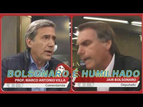 BOLSONARO, HUMILHADO EM DEBATE