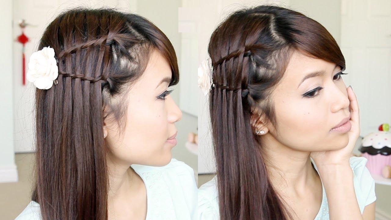 ... Twist Hairstyle for Medium Long Hair Tutorial - Bebexo - YouTube