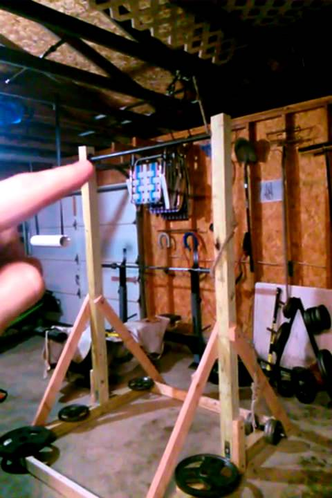 diy pull up station freestanding pull up bar youtube