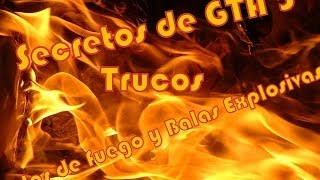 """/GTA 5/-Trucos Balas Explosivas Y Balas De Fuego """"PS3"""