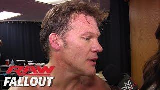 Raw Fallout: Declaraciones de Chris Jericho