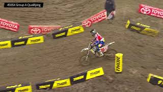 Monster Energy Supercross Round 13 Seattle 450 Group A Qualifying