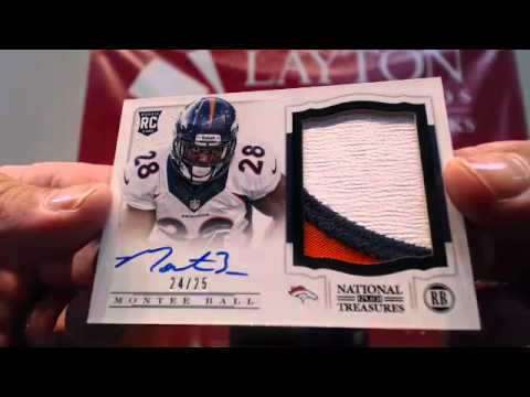 Battle of the Brands Triple Case Break 2013 High End Footbal