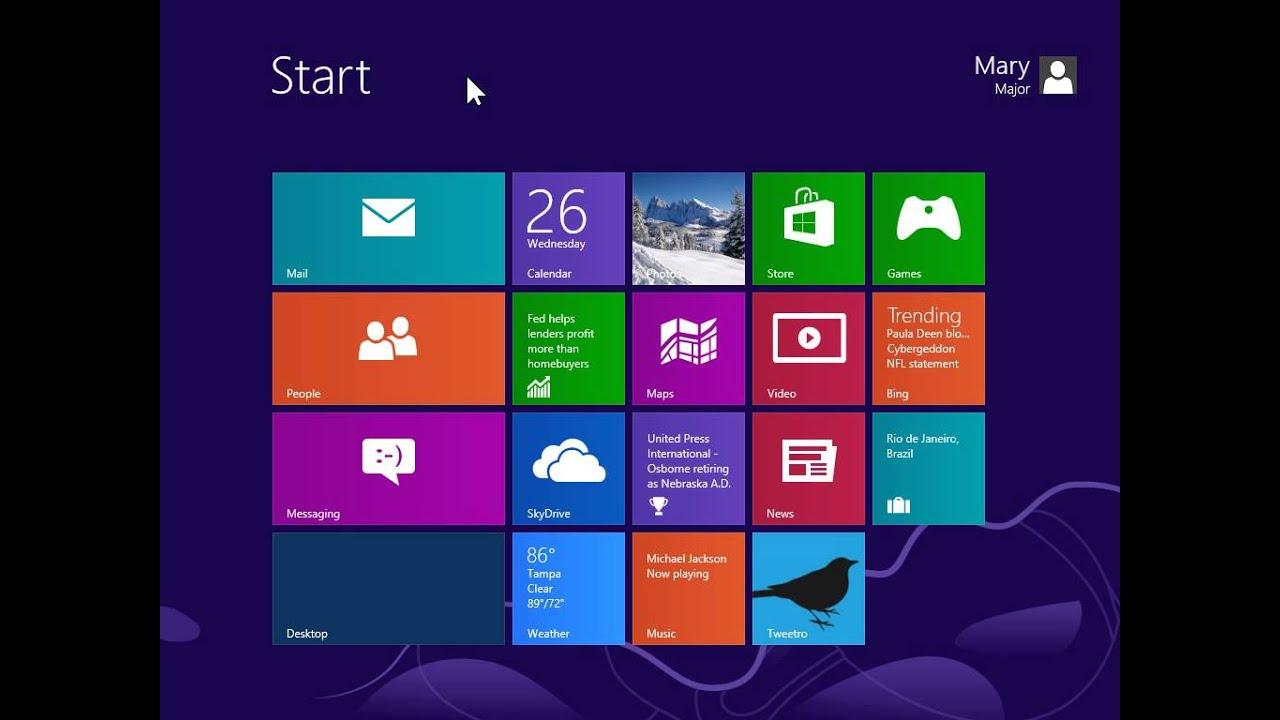 Windows 8 Desktop Version Get Back the Internet Explorer ...
