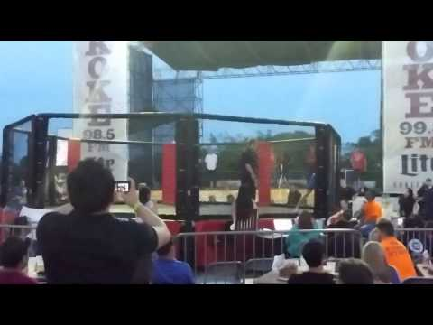 Cage of Athena Rounds 2 & 3 and Final Decision in Austin, Texas - J  Dawson 201404181