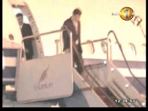 NewsFirst_China's senior Communist Party Leader Liu Yunshan arrives
