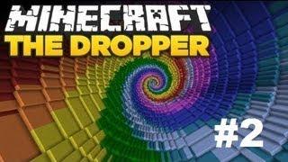 Minecraft The Dropper #2 O Bosz Jakie Zchizy :D