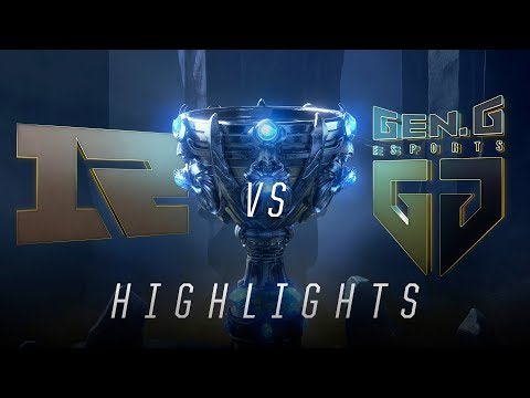 RNG v GEN - Worlds Groups Stage Day 5 Match Highlights (2018)