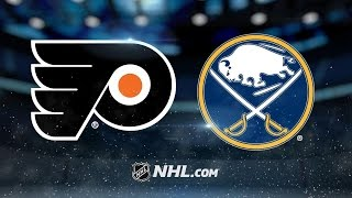 Gudas' three points power Flyers past Sabres, 6-3