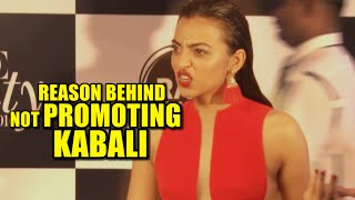 Radhika Apte REVEALS the Reason Behind Not Promoting Rajinikanth's Kabali Movie