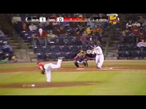 Braves' Floyd fans fifth batter