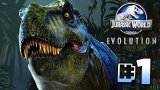 Building Jurassic World!! - Jurassic World Evolution | Ep1