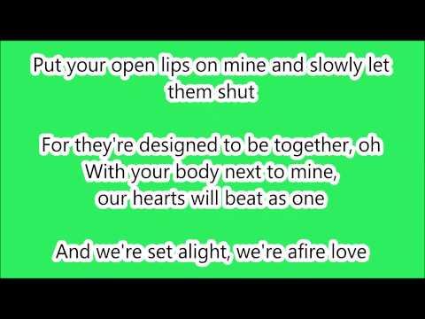 Ed Sheeran - Afire Love LYRICS (HD)