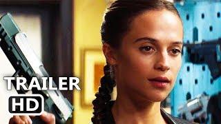 TOMB RAIDER Official Trailer (2018) Alicia Vikander Action Movie HD