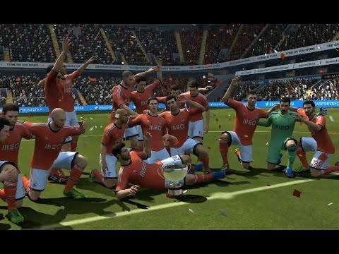 FIFA 14 : Tottenham - Benfica 2-5 (exclusive highlights)