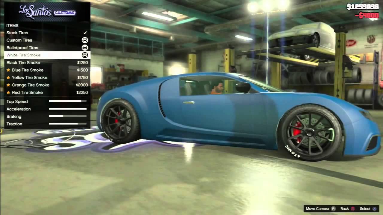 gta 5 bugatti veyron car tuning youtube. Black Bedroom Furniture Sets. Home Design Ideas