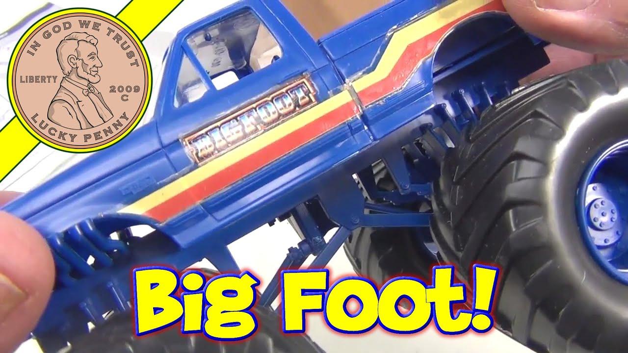 bigfoot monster truck model kit