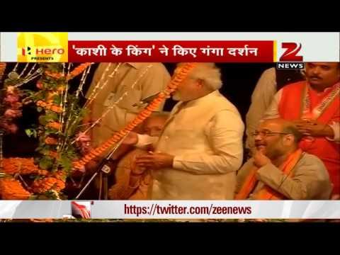 Narendra Modi attends 'Ganga Aarti' in Varanasi, thanks people for support