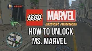 How To Unlock Ms Marvel LEGO Marvel Super Heroes